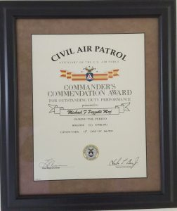 Commander's Commendation Award