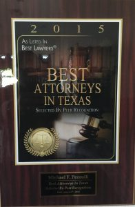 2015 Best Attorneys in Texas