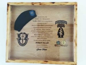 Honorary Green Beret awarded to Michael Pezzulli