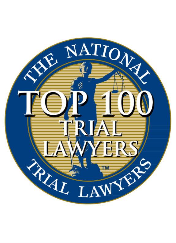 Award naming Michael Pezzulli one of the Top 100 Trial Lawyers in the USA