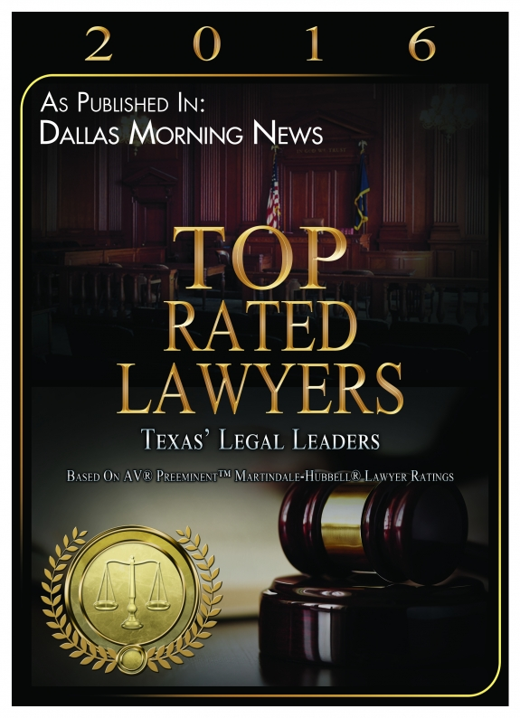Award from the Dallas Morning News to Michael Pezzulli
