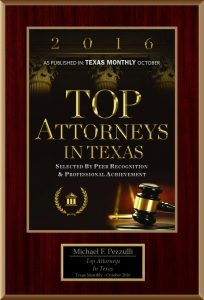 2016 Top Attorneys in Texas