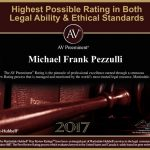 Michael Pezzulli receives the highest possible rating in ability and ethics – again!