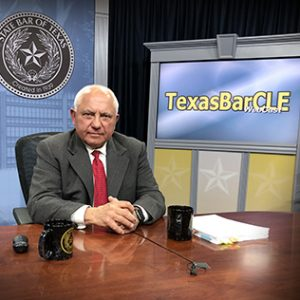Michael Pezzulli presents Parallel Prosecution webinar for State Bar of Texas, March 2019